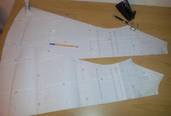 20141021_Vorbereitung Basiskleid Toni