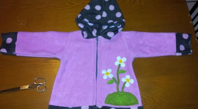 Babyjacke für Milla