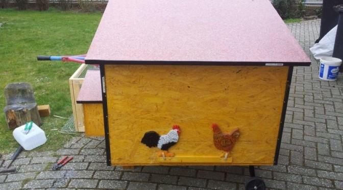 Hühnerstall mit Auslauf 2016